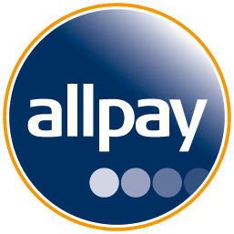 Allpay button to pay your rent